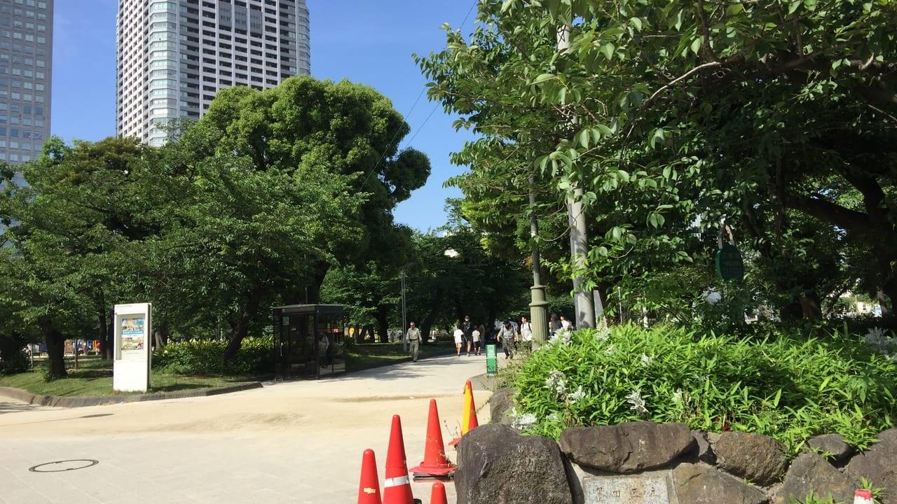 錦糸公園のエントランス