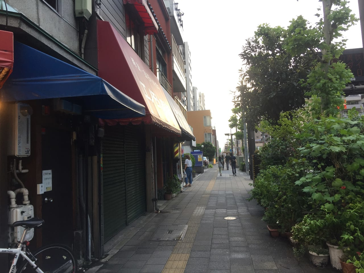 京葉道路の風景