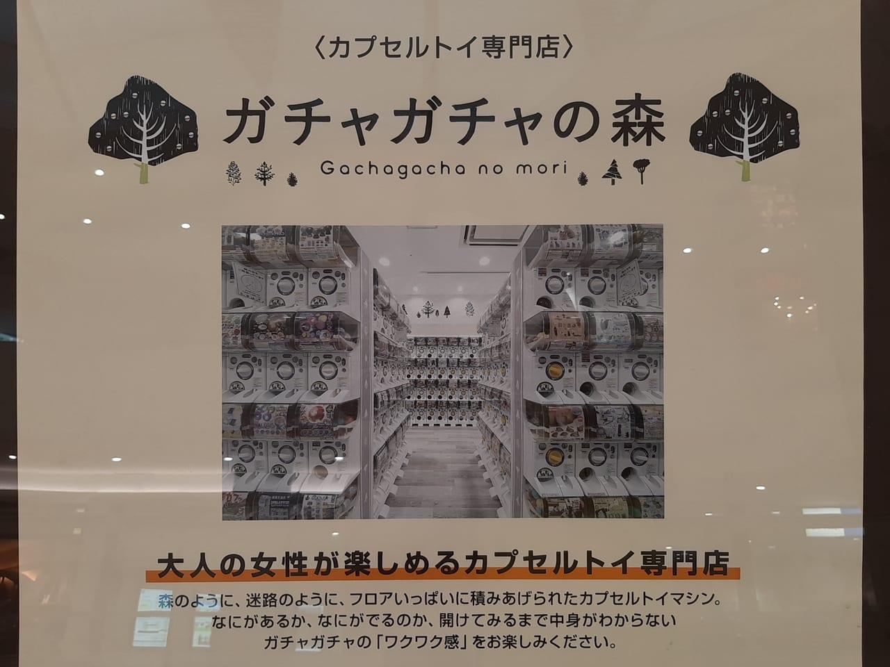 ガチャガチャの森詳細