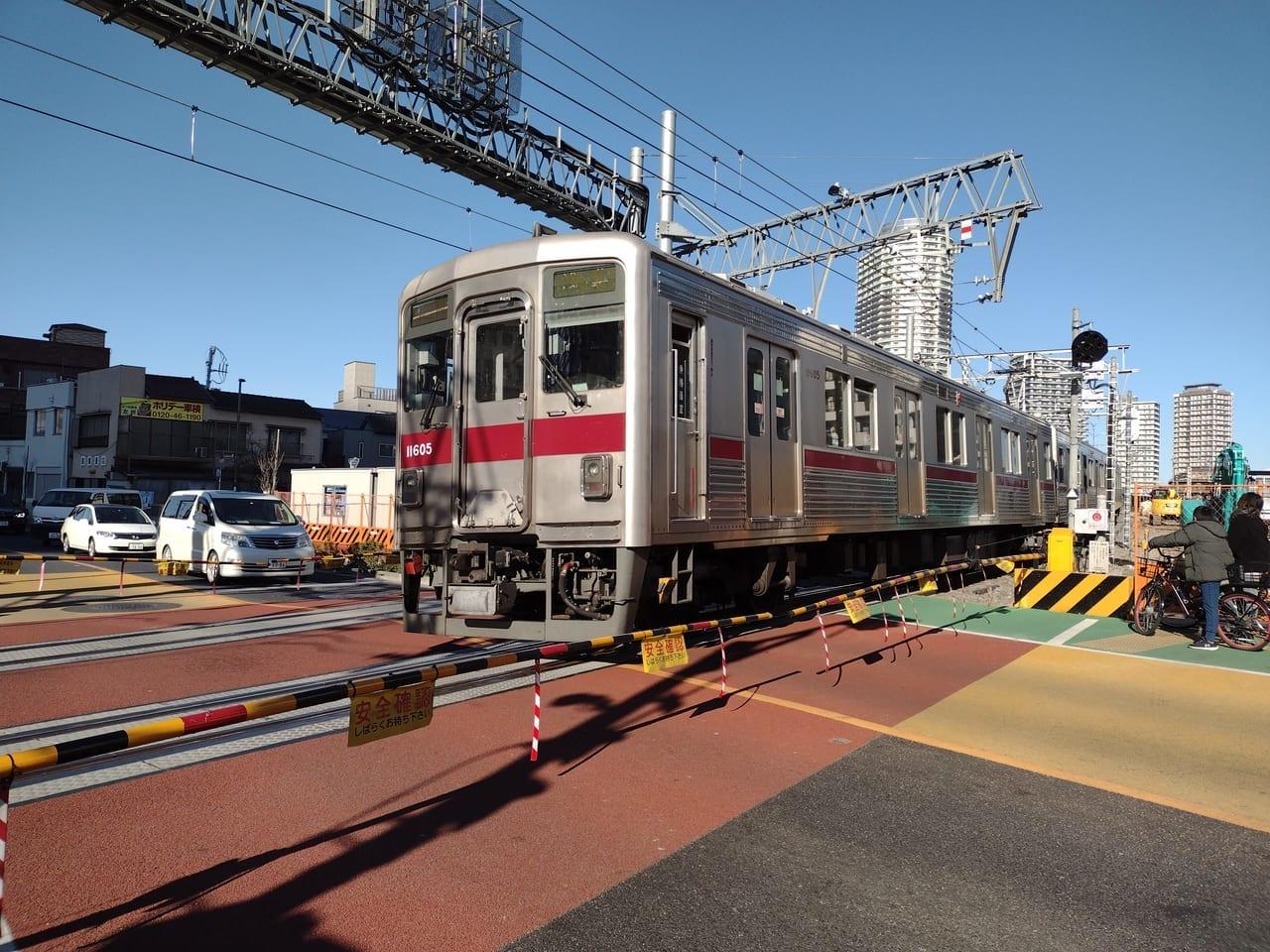 東武線押上踏切