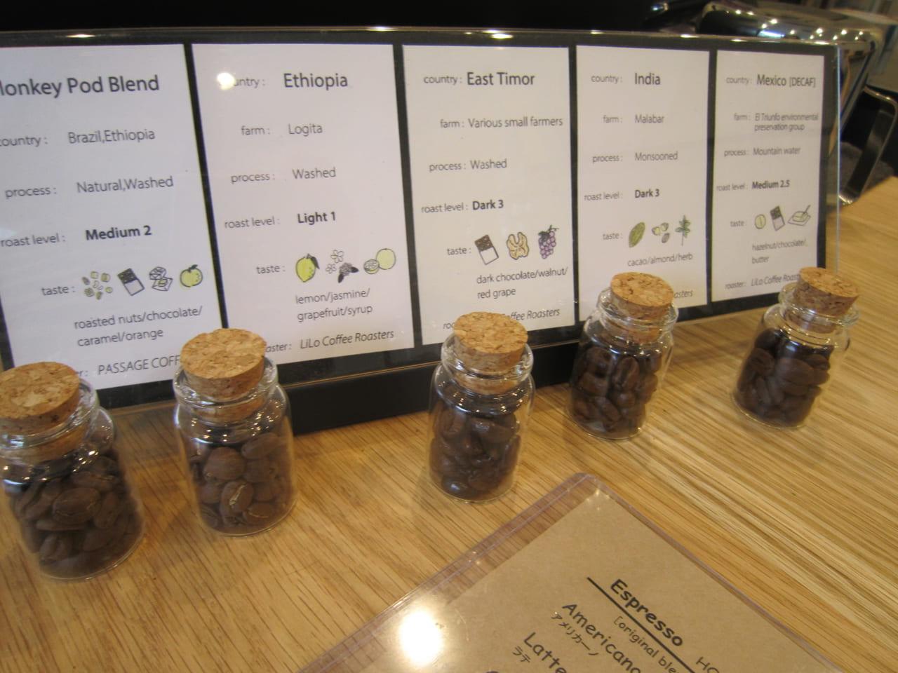 Monkeypodコーヒー豆